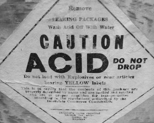 Acid B&W
